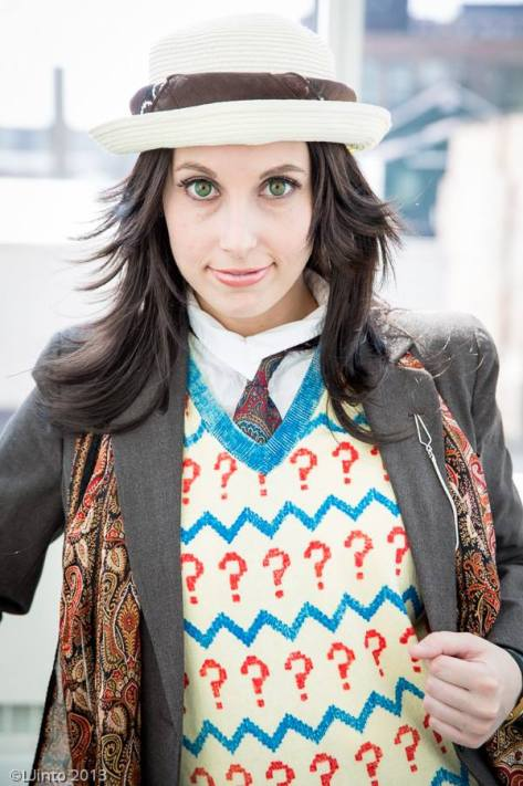 Jillian Lynn as the Seventh Doctor