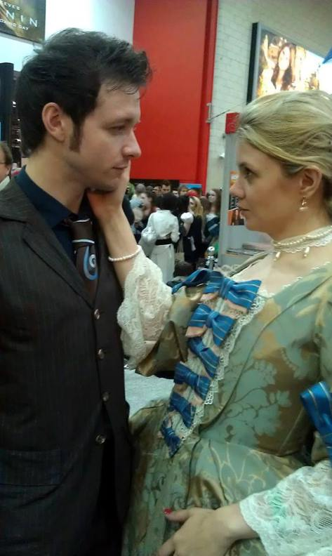 Tenth Doctor and Madame De Pompadour by Oddtogs