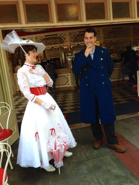 Mary Poppins and Captain Jack by ME Cosplays