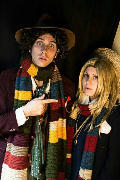 Cosplayers: Darling Whovian Cosplays Characters: Fourth Doctor and Romana II
