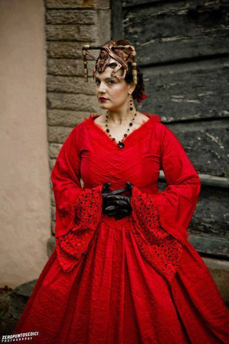 Cosplayer: Akasha Blood Character: Miss Hartigan