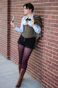 Matilda Crow as the Eleventh Doctor