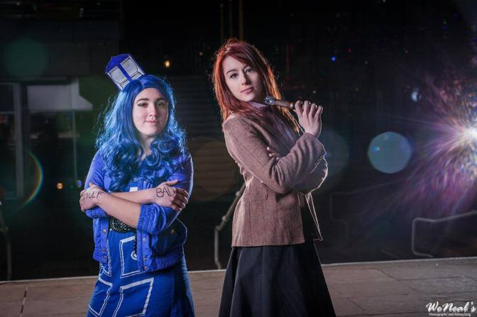 The Doctor and her Tardis by Kanami Kosplay and MagykTrix Cosplay