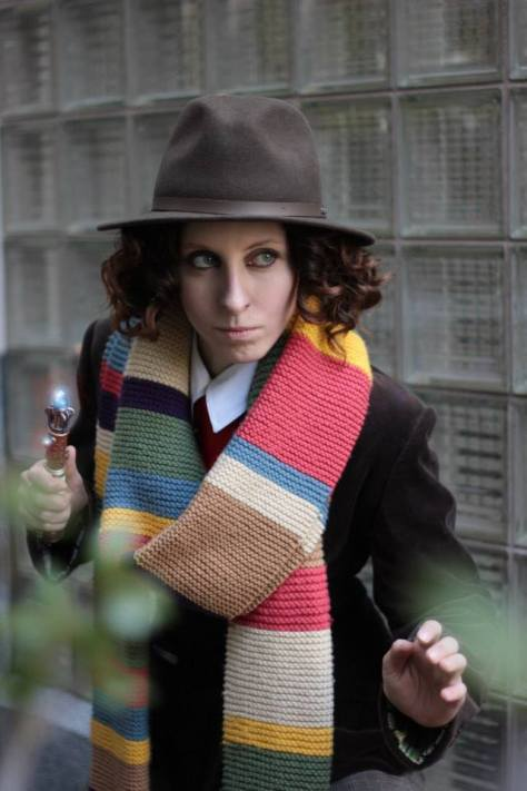 Cosplayer: Mhysa Cosplay Character: Fourth Doctor