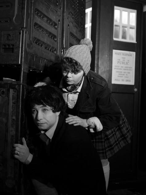 Cosplayers: Samuel Peter Rendell and Holly Rose Characters: Second Doctor and Jamie Tardis: Old Girl Photo by: Timothy Skinner