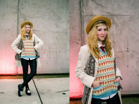 Cosplayer: Rachel Duel Character: Seventh Doctor