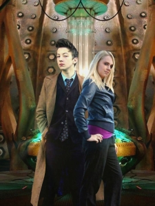Cosplayers: Michael Davis, Unofficial Tenth Doctor Impersonator and Lizzie's Cosplay Characters: Tenth Doctor and Rose Tyler  Edit: Lee Shanks - Cosplay & Cie