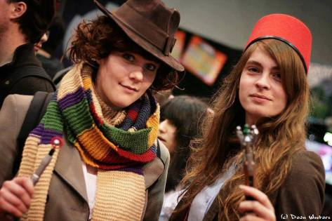 Cosplayers: Imke Rogers Martens & Kelly-Sinead Vissers Characters: 4th and 11th Doctors Outfit: Fem/Alt
