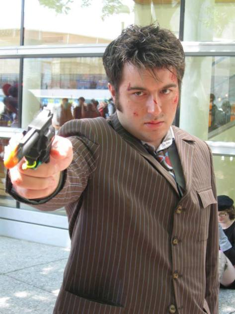Evan Brown as the Tenth Doctor