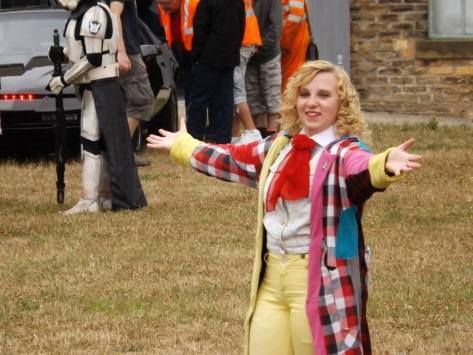 Cosplayer: Ashleigh Wood Character: Sixth Doctor