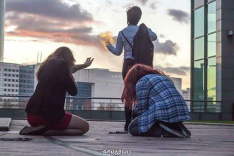 Hina Aoi as Clara Oswald Yunastar Cosplay as Amy Pond Becky Cosplay as Eleven