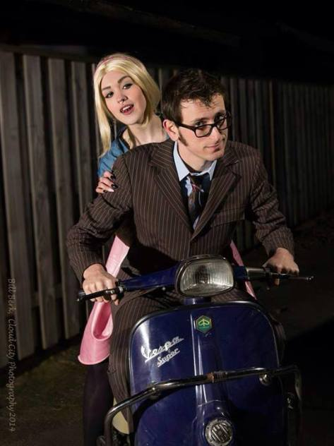 Cosplayers: Feoranna Cosplay and The Other Doctor Characters: Tenth Doctor and Rose Tyler