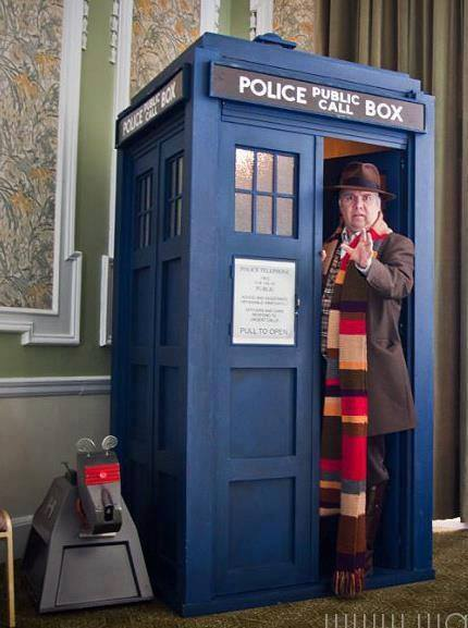 "Cosplayer: Dale Who Character: 4th Doctor  ""Would you like a Jelly Baby?"""