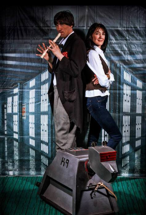 Cosplayers: Paul Devine & Wendy Seymour Characters: 2nd Doctor and Sarah-Jane Smith