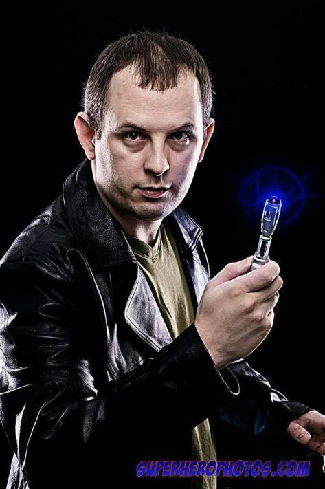 "Cosplayer: Nicholas James Mason Character: Ninth Doctor  ""Fantastic"""