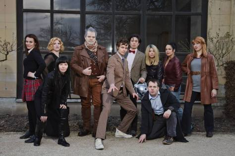 Cosplayers: AyuVince, BigRed, DaisukeSB, DJForce, ELF, Red_Mary, Shari81, Taranea, Isadora, BF  Characters: Eleventh Doctor, War Doctor, Donna Noble, Capitan Jack Harkness, Dr. River Song, Lady Christina, Rose Tyler, Clara Oswald, Martha Jones, Tenth Doctor  Picture by: Miss Takashi