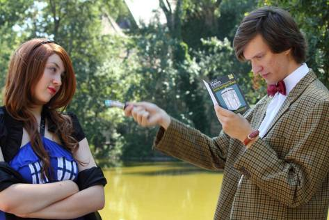 Cosplayer: Czira Battina Characters: Tardis & Eleveth Doctor Borrowed From: TARDIS Babes