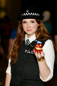 Cosplayer: BenaeQuee - Costumer and Hoop Dancer Character: Amy Pond Photo By: David Skirmont DCon 2013
