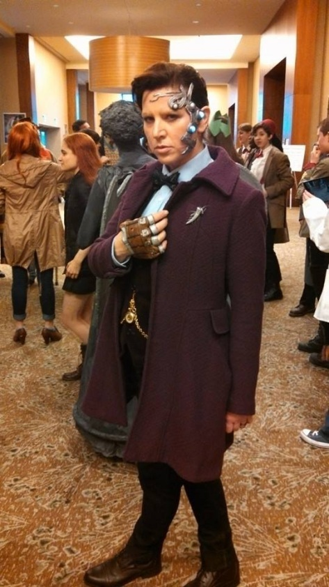 Cosplayer: Lisa Roberts Character: Mr Clever