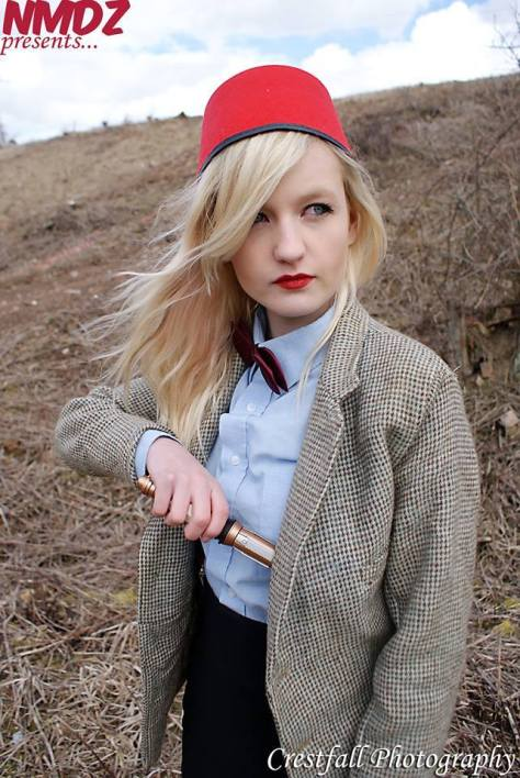 Cosplayer: Holly Dyre Character: Eleventh Doctor Photo: Crestfall Submitted by: The Doktor Dokka