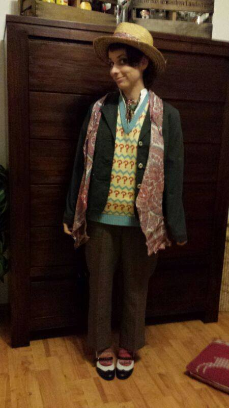 Cosplayer: Canemi Canetis Character: Seventh Doctor