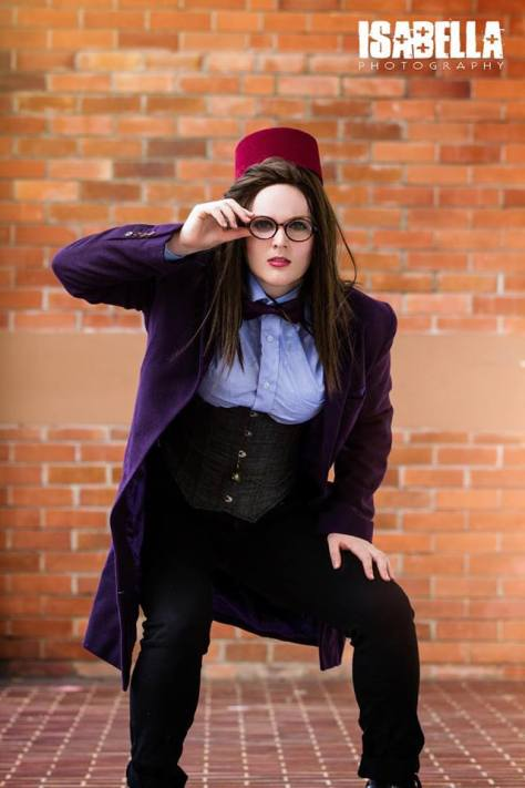 Cosplayer: Vicky-Vic Cosplay Character: Eleventh Doctor Photographer: Isabella Photography