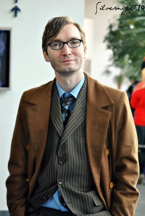 Cosplayer: Paul Snowball Character: The Tenth Doctor Photo by: Hannah Ashton - silvernight10