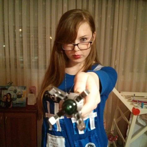 Cosplayer: Shelly Meir Character: The Tardis