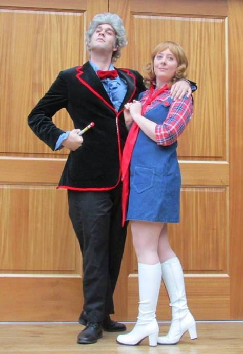 Cosplayers: A Portrait of a Timelady and Brandon Clauser Characters: Third Doctor and Jo Grant