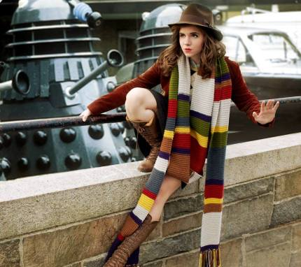 Cosplayer: Jacklyn Black Cosplay Character: Fourth Doctor