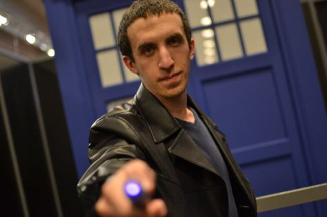 Cosplayer: Samy Kacimi Character: Ninth Doctor