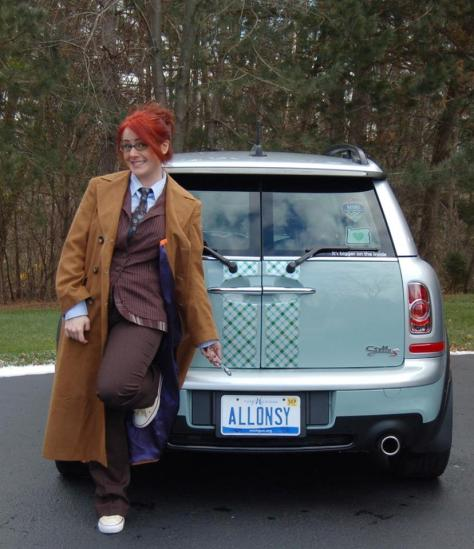 Cosplayers: Lisa B Cosplay Character: Tenth Doctor