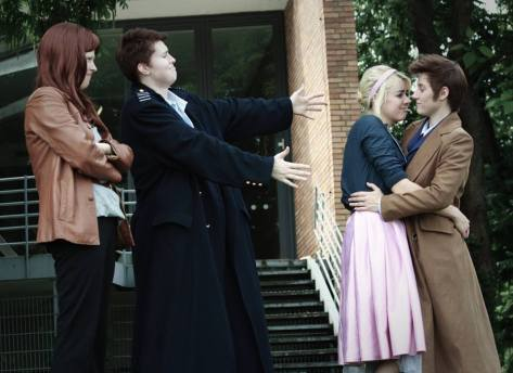 Submitted by: Christina VonderWerth Characters: Donna, Jack, Rose and The Doctor Location: Germany