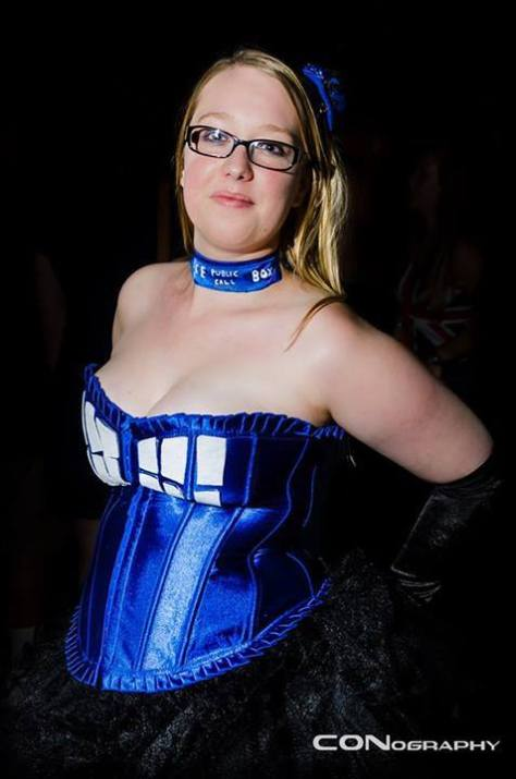 Cosplayer: Leanne Fraser Character: The Tardis Location: Dragon Con 2013 Photo By: CONography