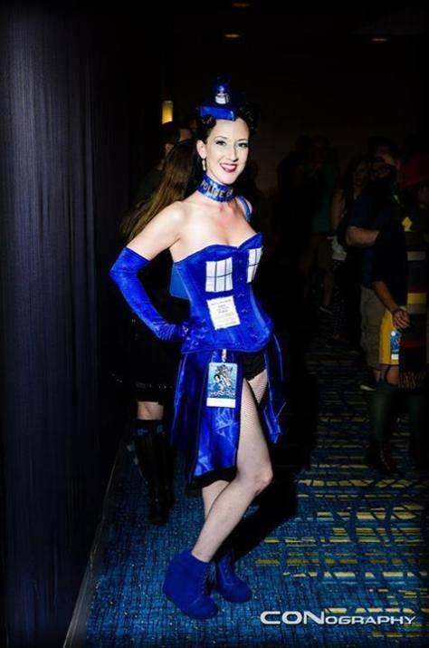 Cosplayer: Natalie Armstrong Character: The Tardis Location: Dragon Con 2013 Photo By: CONography