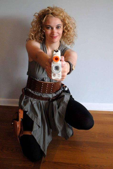 Cosplayer: Wibbly Wobbly Cosplaying Character: River Song