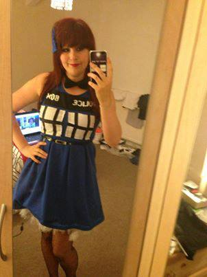 Cosplayer: Cariad Cosplay Character: Tardis