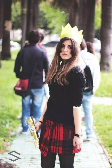 Francesca Barone Character: Clara Oswald Photo by Salvatore Sena Comicon Napoli 2014