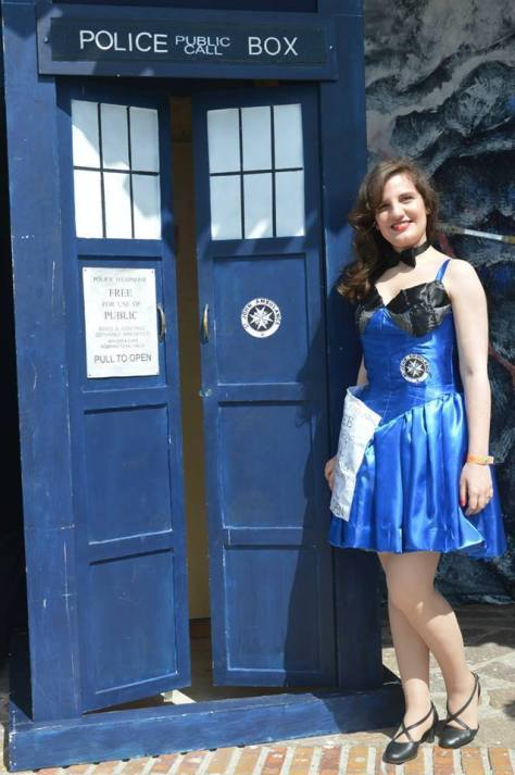 Cosplayer: Chiara Esposito Character: The Tardis