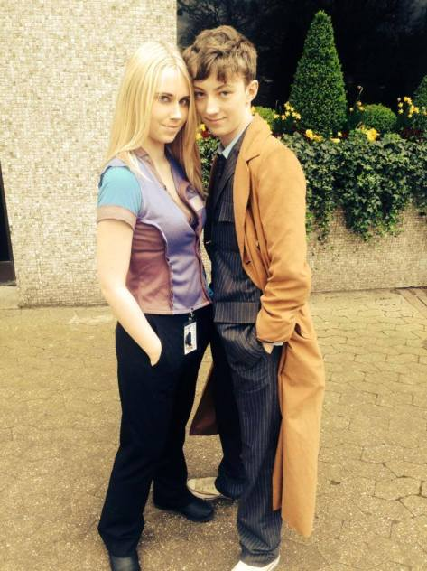Cosplayers: Lizzie's Cosplay and Michael Davis, Unofficial Tenth Doctor Impersonator Characters: Rose Tyler and Tenth Doctor