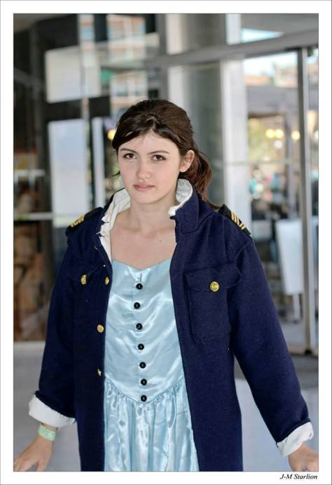 Cosplayer: The Impossible Leaf - Cosplay Character: Clara Oswald Episode: Cold War