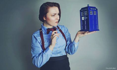 "Cosplayer: Tascha Dearing / Comstock Cosplays Character: Eleventh Doctor  ""Geromino"""