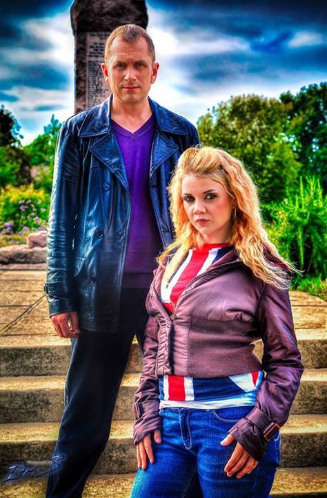 Cosplayers: Tors Webster and Chris Rumbol Characters: Rose and Ninth Doctor Episode: The Empty Child / The Doctor Dances Photo: Photography by Ian B