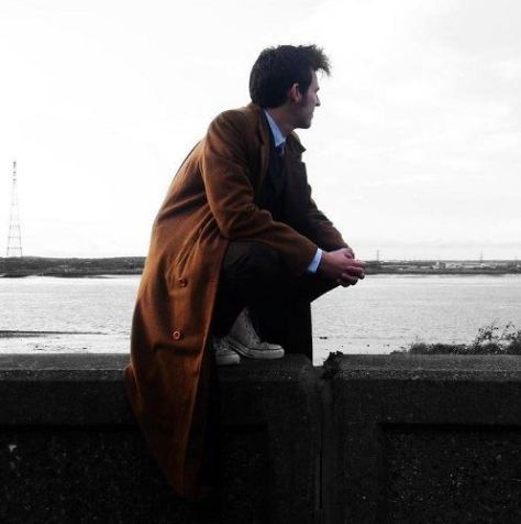 "Cosplayer: Matt Holden Character: Tenth Doctor  ""I'm alright, I'm always alright"""