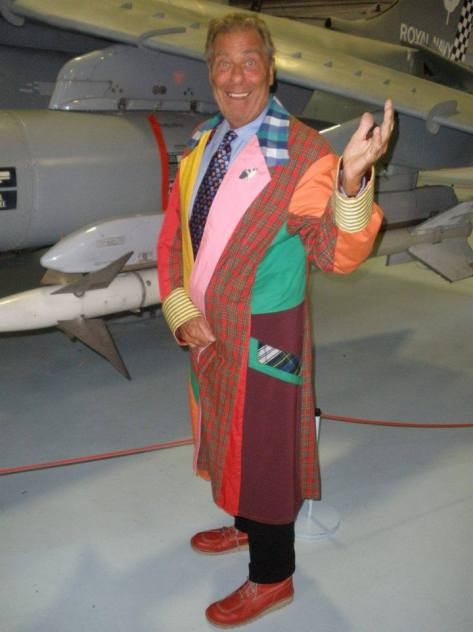 Cosplayer: John Levene Character: Sixth Doctor Photo From: Chris Kingbees  If you didn't already know John played Sgt Benton alongside the 3rd Doctor. It's great to see stars of Doctor Who having fun at events.