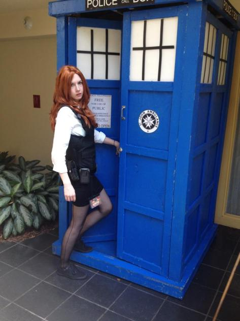 Cosplayer: Pikadrew Cosplay Character: Amy Pond