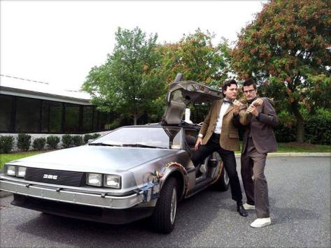 Cosplayers: Jimmy Cosentino and Brian A. Terranova Characters: Tenth Doctor and Eleventh Doctor