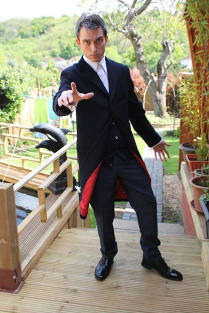 Cosplayer: Brett Underwood Character: The Twelfth Doctor
