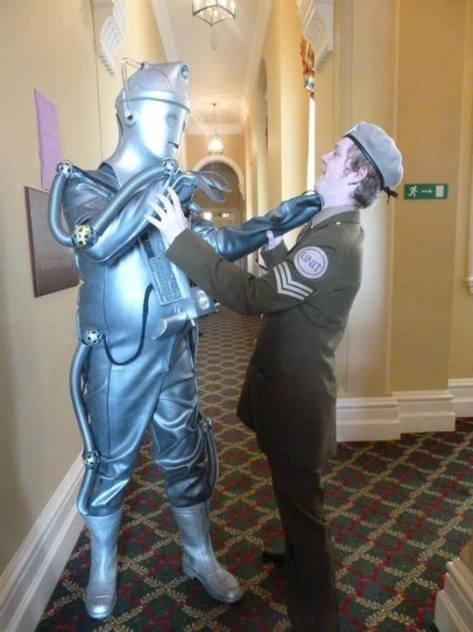 Submitted by: Nightshade's Cosplays Characters: Sergeant Benton and Cyberman