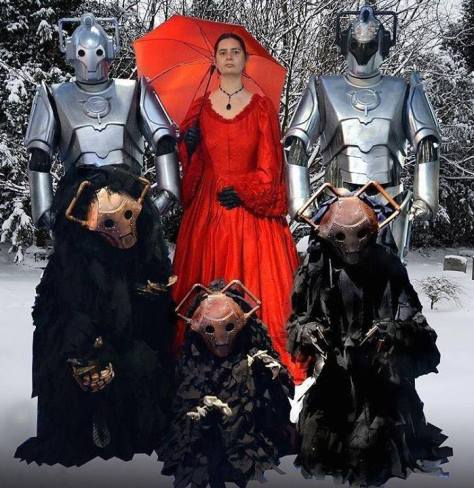 Submitted by: David Wells Characters: Cybermen, Cybershades and Miss Hartigan